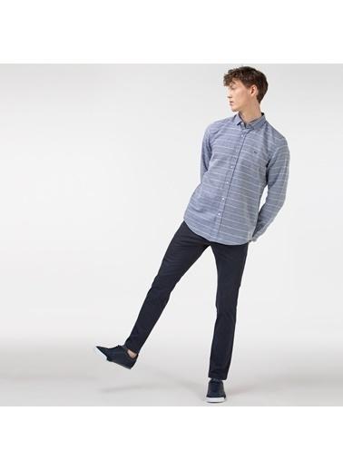 Lacoste Erkek Slim Fit Pantolon HH0156T.56L Lacivert